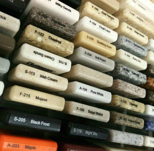colors3 - Эксклюзивные изделия из искусственного камня на заказ