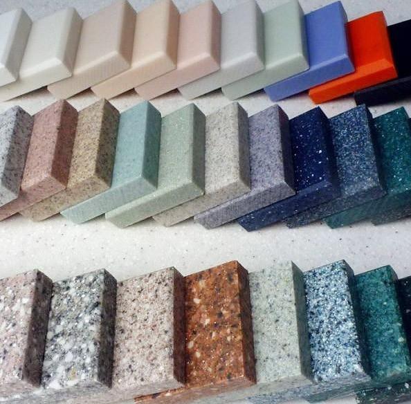colors4 1 - Столешницы для кухним. Ботанический сад