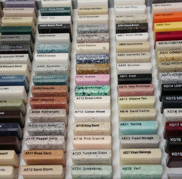 colors4 - Эксклюзивные изделия из искусственного камня на заказ
