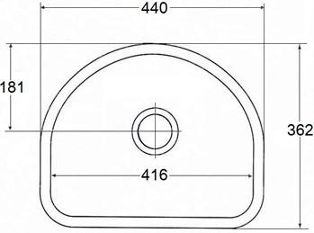 22 1 - Стоимость моек из искусственного камня