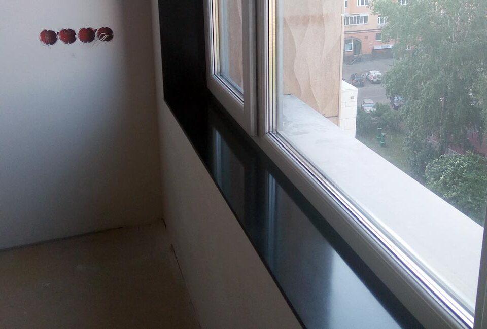 3 7 960x649 - Чёрный подоконник из акрилового камня