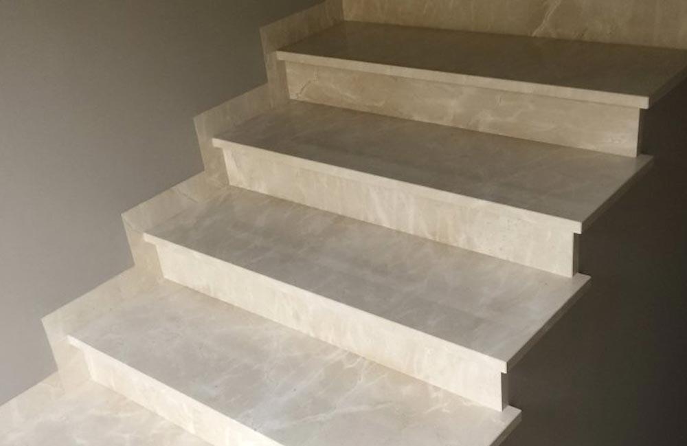 3 7 - Лестницы из искусственного камня на заказ
