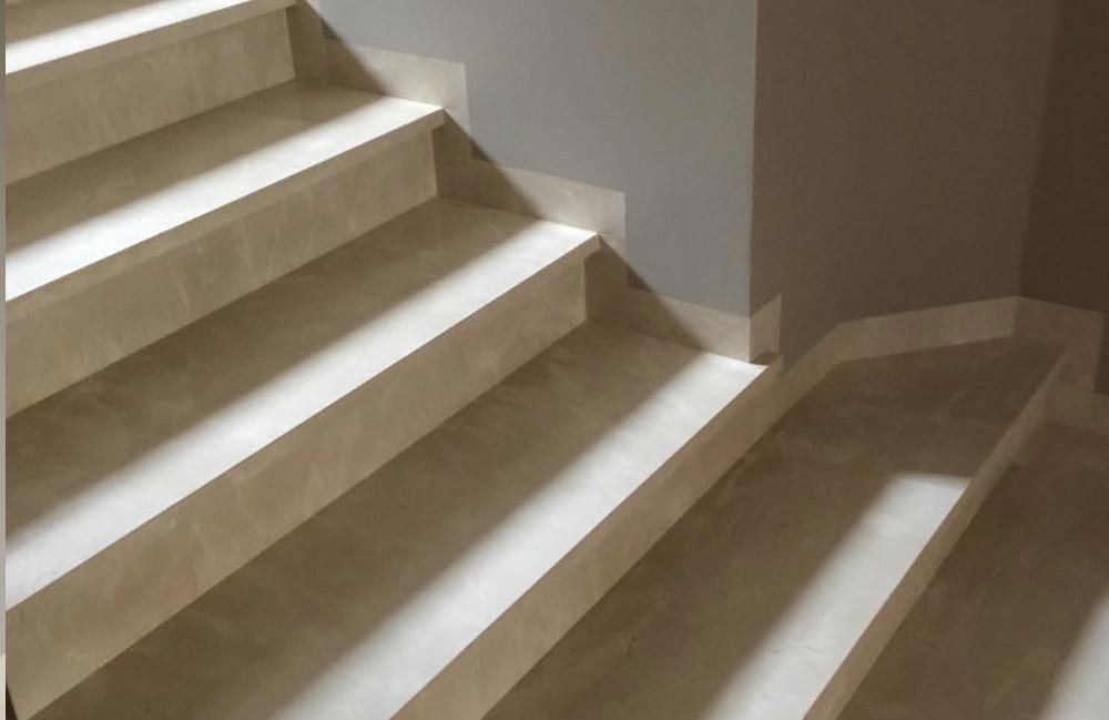4 4 - Лестницы из искусственного камня на заказ