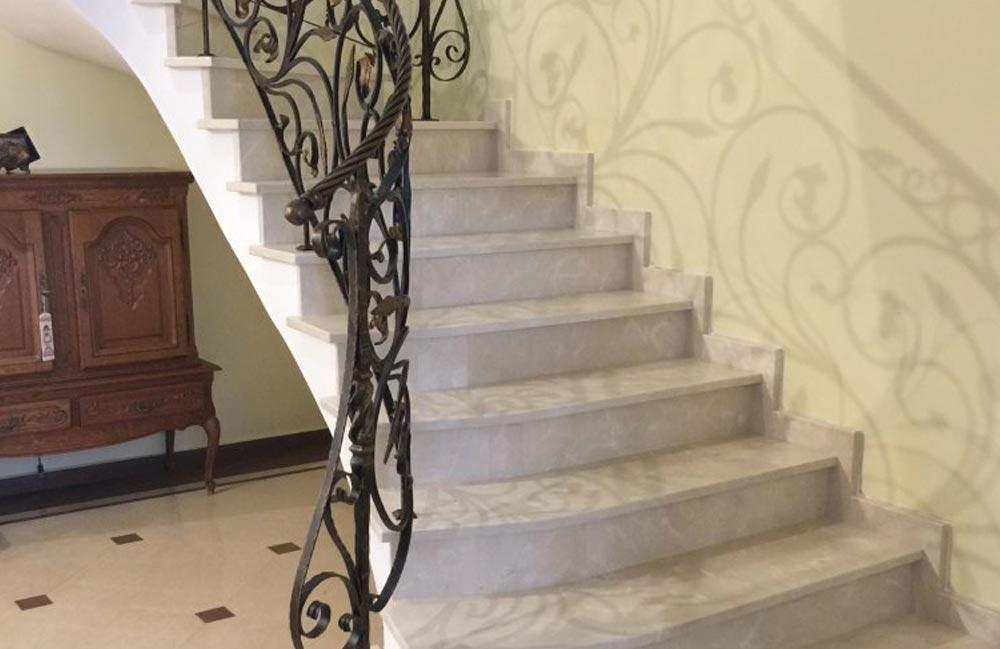 5 5 - Лестницы из искусственного камня на заказ